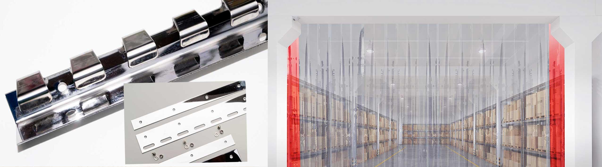 Industrievorhänge PVC