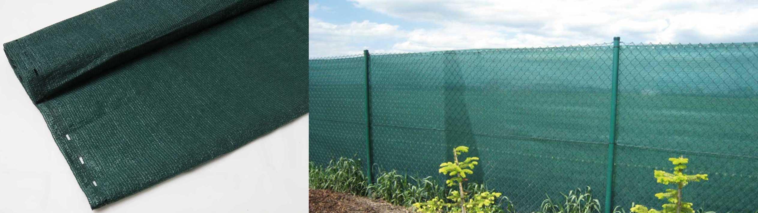 Sichtschutznetze für Zäune