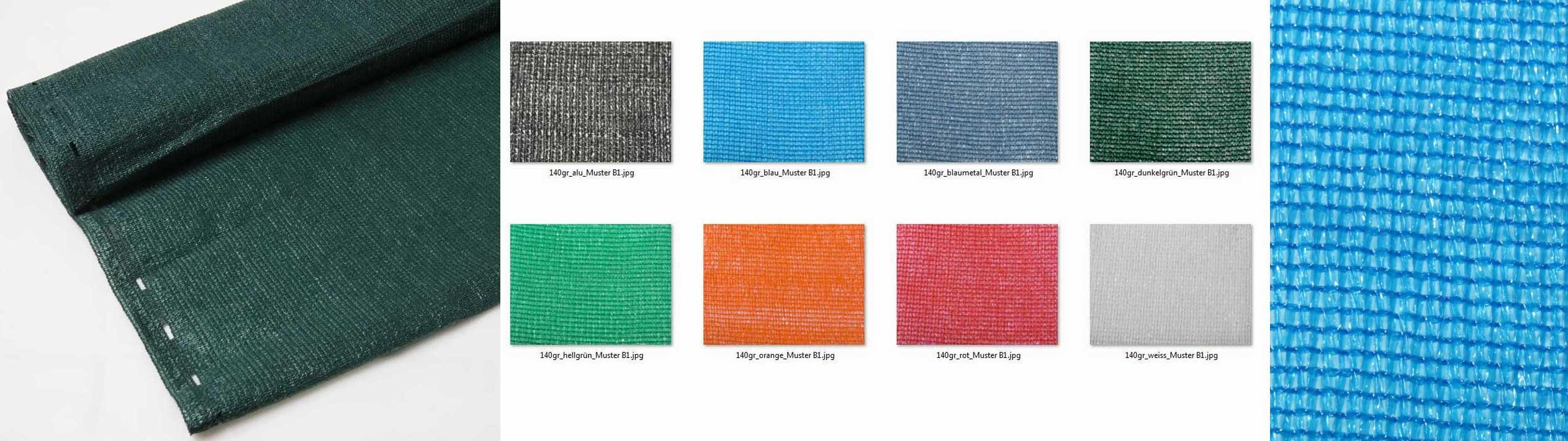 Schattiernetze 140 Rollenware