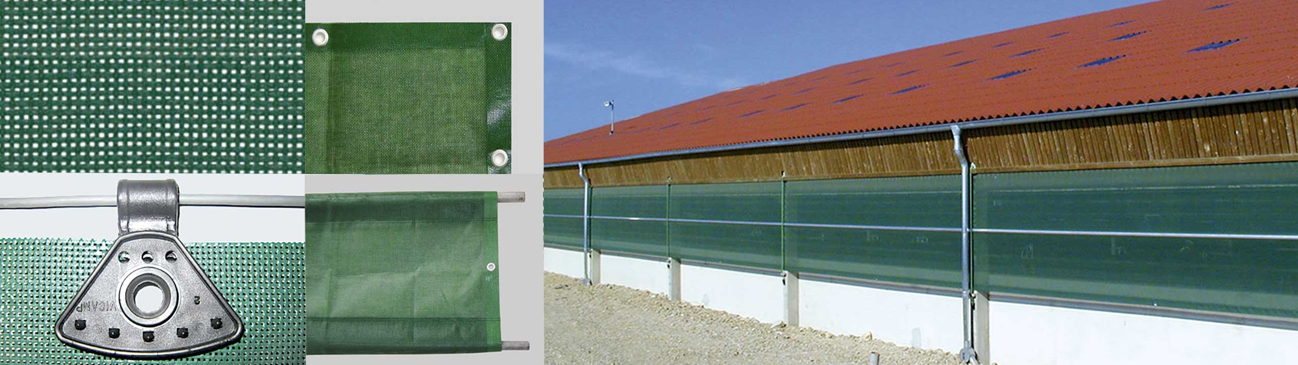 Windschutznetze Agrar