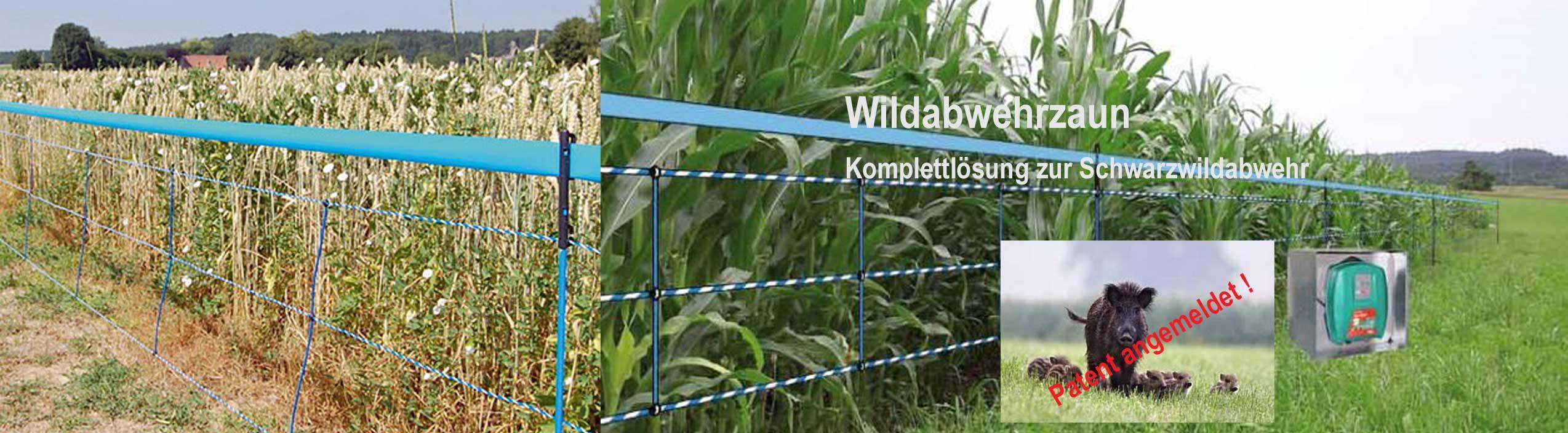 Wildabwehrzaun