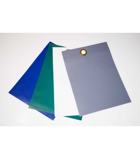 Abdeckplane PVC weiss, Farbmuster 650 gramm