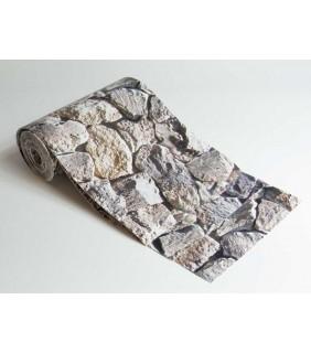 Motiv Sichtschutzstreifen Sandstein, PVC 19/2,85