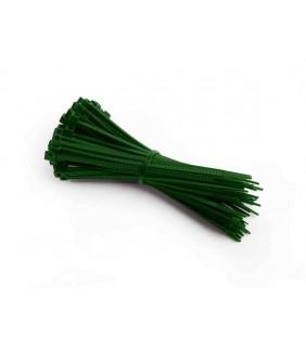 Kabelbinder grün, 14 cm lang