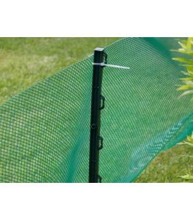 Kunststoffpfahlset für Krötenzaun , grün, 70 cm