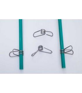 Metallclip Niro für Fiberglaspfahl 10 mm