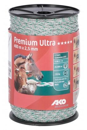 Weidezaunlitze Premium Ultra