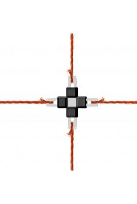 Litzclip Kreuzverbinder geschlossen