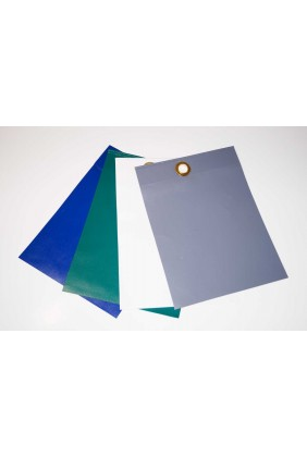 Abdeckplane PVC grün, Farbmuster