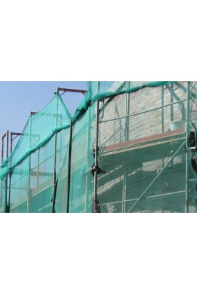 gerüstschutznetz grün