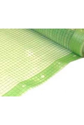 Gitterfolie grün, transparent  1,5 x 50 m