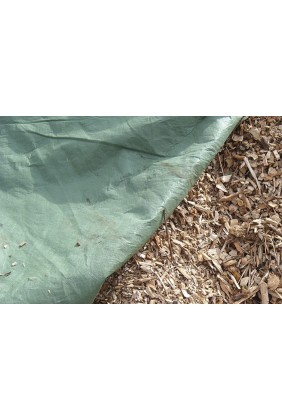 Hackschnitzel- Kompostvlies 200 gramm 4 x 50 m