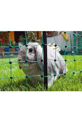 Kaninchennetz grün