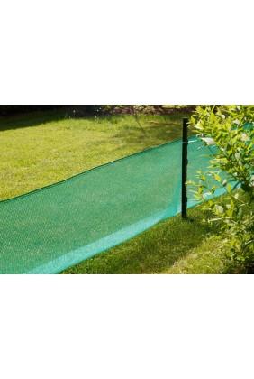Krötenschutznetz grün Anwendung