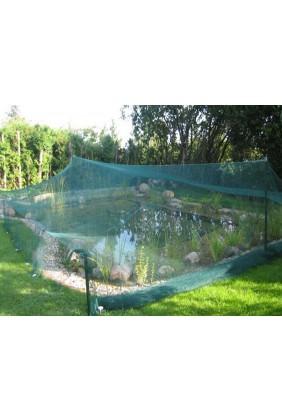 Teichschutznetz grün
