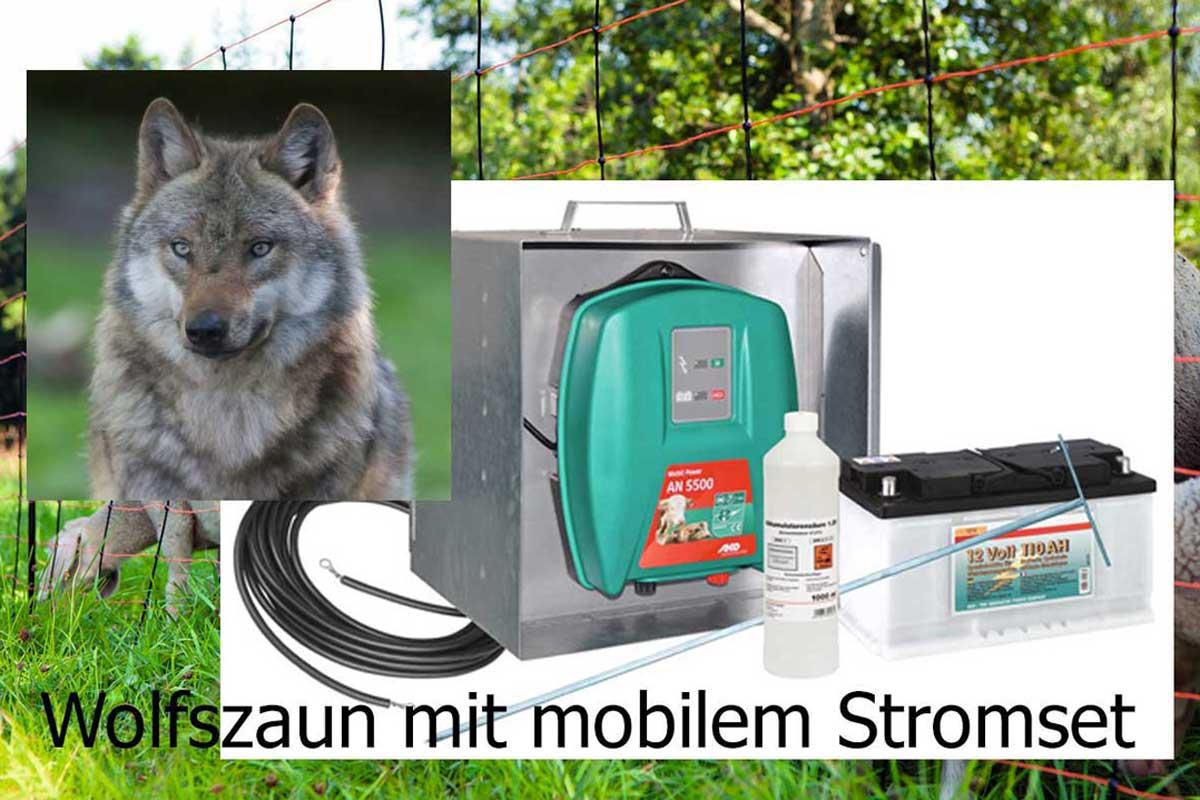 Wolfsschutzzaun